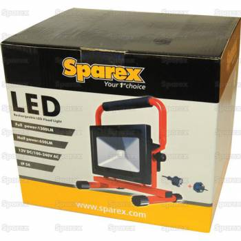 Sparex LED oplaadbare breedtestraler - s113211 -  hoogte 285 mm 