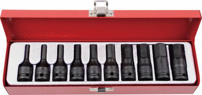 Set TORX® slagdopsleutels 3/8