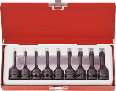 Set TORX®-slagdopsleutels 3/8