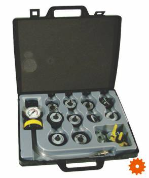 Radiateurtester met Adapters - BT415