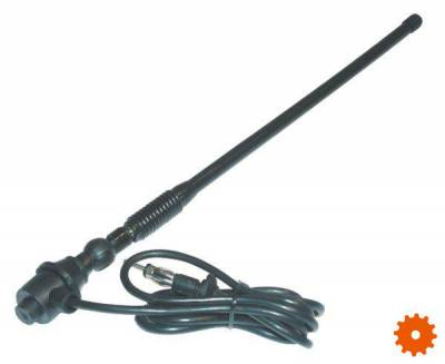 Antenne rubber staaf -