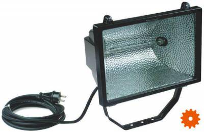 Halogeen bouwlamp 1000W -
