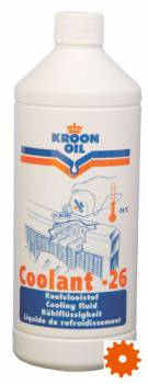 Koelvloeistof coolant -26°C Kroon-oil - SP04203