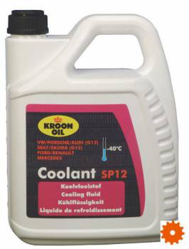 Koelvloeistof coolant -40°C Kroon-oil SP12 - SP04319